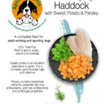 Grain Free Haddock, Sweet Potato & Parsley