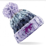 Branded Bobble Hat – Lavender Fizz