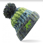 Branded Bobble Hat – Electric Grey