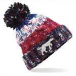 Branded Bobble Hat – Black Jacks