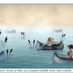 Pointer Boat Print – 42cm x 30cm – Unframed